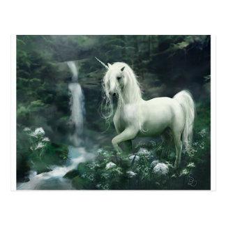 unicorn-fantasy postcard