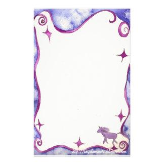 Unicorn fantasy- stationary stationery