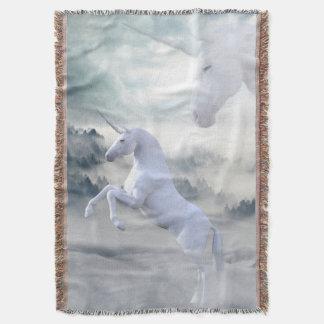 Unicorn Fantasy Throw Blanket