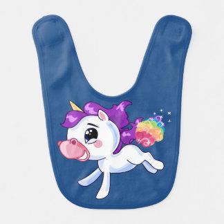 Unicorn Farts Baby Bib