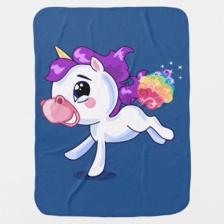 Unicorn Farts Baby Blankets