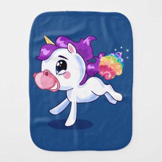 Unicorn Farts Burp Cloth