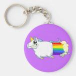 Unicorn Farts Keychain