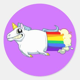 Unicorn Farts Sticker