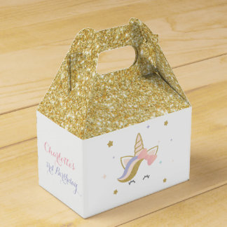 Unicorn favor boxes, Birthday party decorations Favour Box
