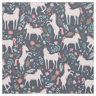 Unicorn Fields Fabric