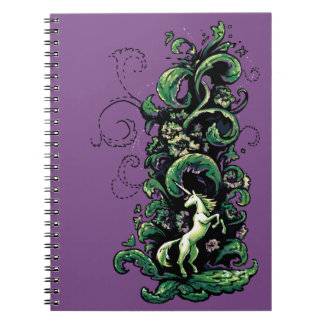 Unicorn Flourish Notebooks