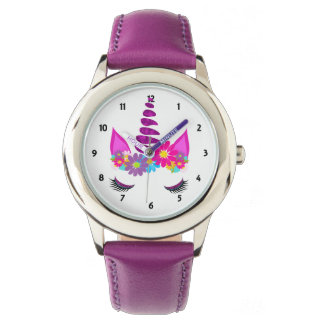 Unicorn Flowery Super Cute Girly Watch