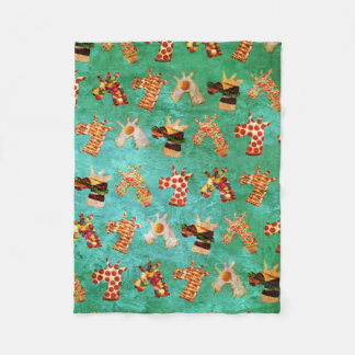 Unicorn Food Fleece Blanket