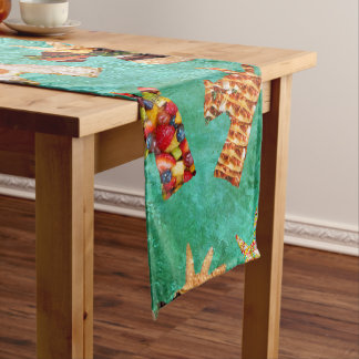 Unicorn Food Short Table Runner