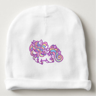 Unicorn for baby baby beanie