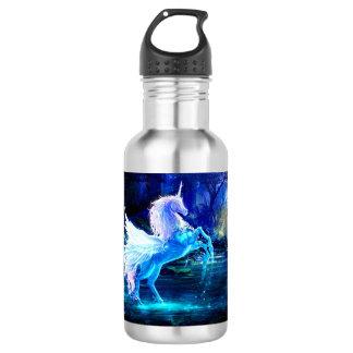 Unicorn Forest Stars Cristal Blue 532 Ml Water Bottle