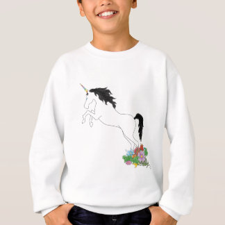 Unicorn from the Flowers Sweatshirt