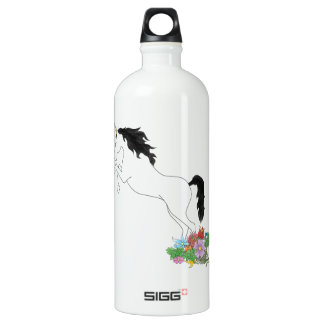 Unicorn from the Flowers Water Bottle