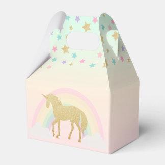 Unicorn Gable Favour Box