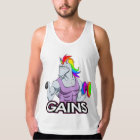 Unicorn Gains Tank Top