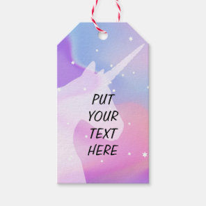 Unicorn - Gift Tag