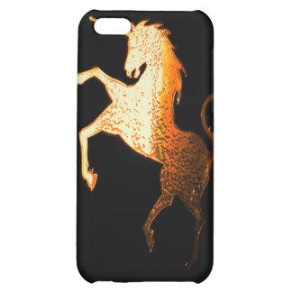 unicorn - golden iPhone 5C covers
