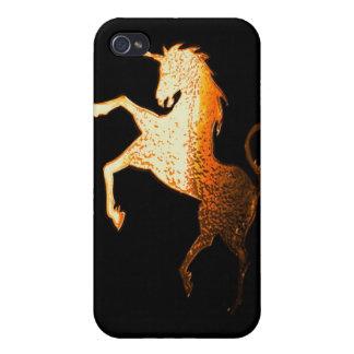 unicorn - golden iPhone 4 cover