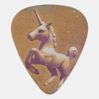 Unicorn Guitar Picks (Metal Lavender)