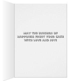 Unicorn Happiness Card