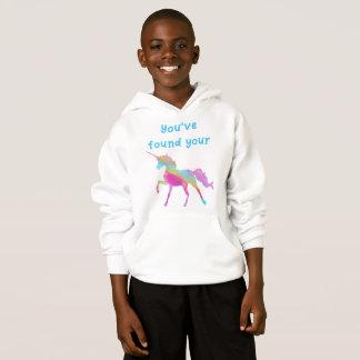 "Unicorn Hoodie - ""You've Found Your Unicorn"""
