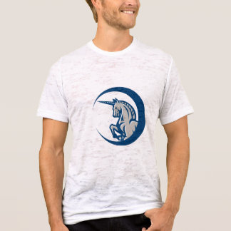 Unicorn Horse Prancing Side T-Shirt