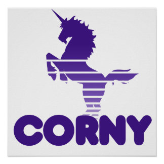 Unicorn Humor Poster