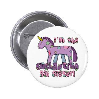 Unicorn I m the Big Sister Pin