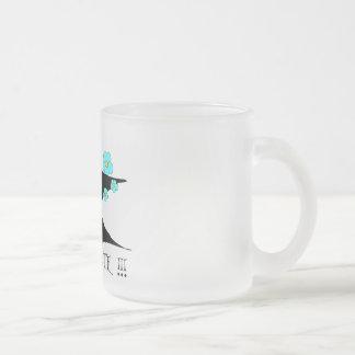 Unicorn - i to emergency cute! frosted glass coffee mug