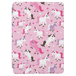 unicorn illustration kids background iPad air cover