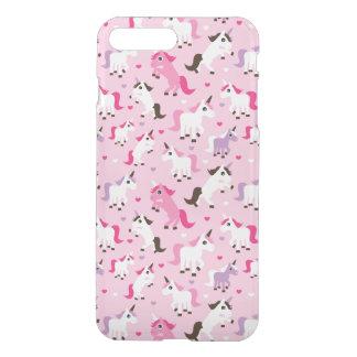 unicorn illustration kids background iPhone 8 plus/7 plus case