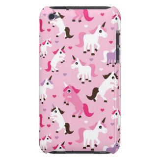 unicorn illustration kids background iPod touch case