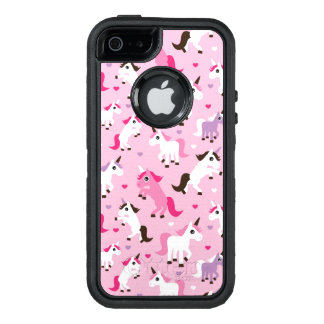 unicorn illustration kids background OtterBox defender iPhone case