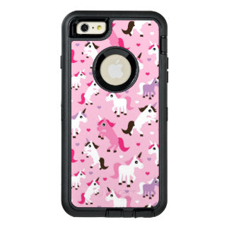 unicorn illustration kids background OtterBox defender iPhone case