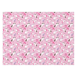 unicorn illustration kids background tablecloth