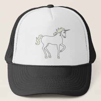 Unicorn Illustration Trucker Hat