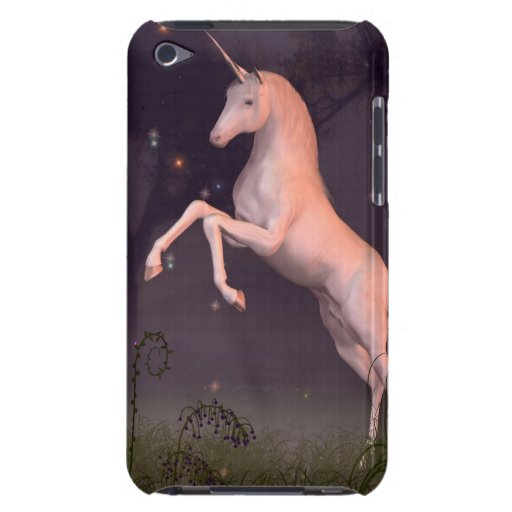 Unicorn in a Moonlit Forest Glade iPod Touch Case-Mate Case