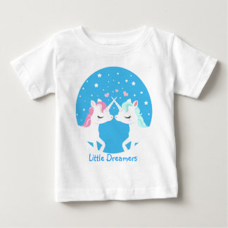 Unicorn in love shirt customisable
