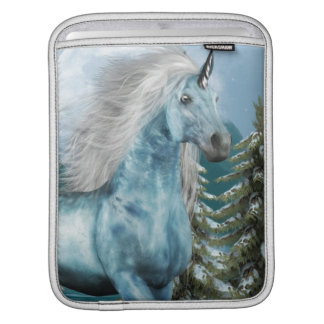 Unicorn in Moonlight iPad Sleeve