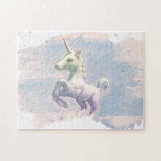 Unicorn Jigsaw Puzzle with Box (Moon Dreams)