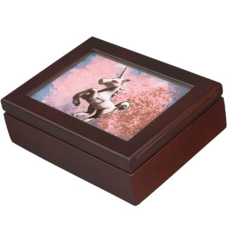 Unicorn Keepsake Box (Faded Sherbet)