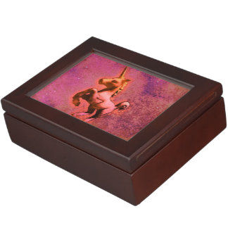 Unicorn Keepsake Box (Red Intensity)