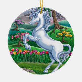Unicorn Kingdom Christmas Ornament