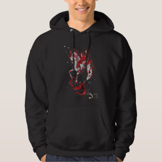 Unicorn Koi Fish Water Hippocampus Horse Pony Hoodie