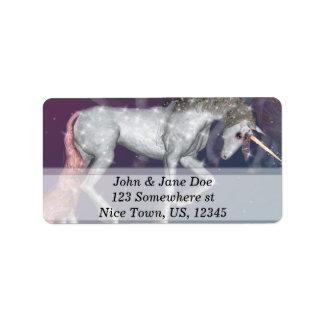 Unicorn Label