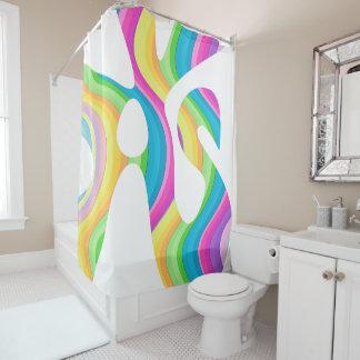 Unicorn Lava Shower Curtain