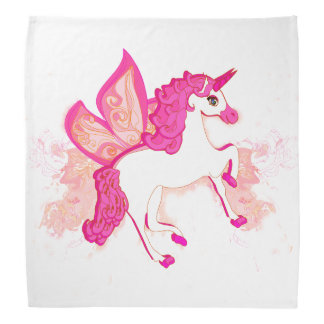 unicorn logo bandana