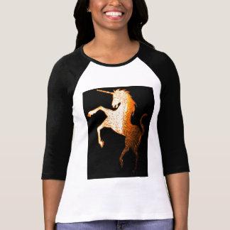 unicorn logo golden shirts