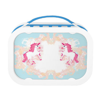 unicorn logo lunch box
